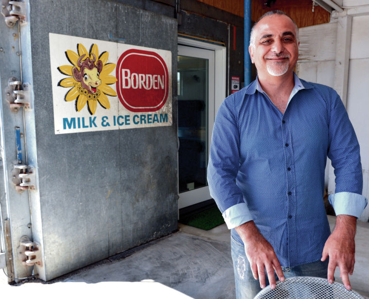 Architect re-purposes walk-in ice-cream freezer as office
