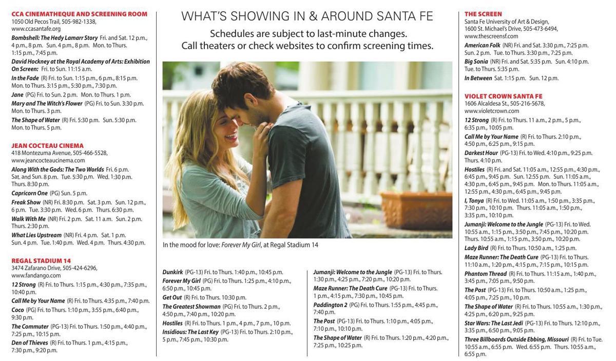 Jan Feb Show Times Chile Reviews Santafenewmexicancom - 26 feb