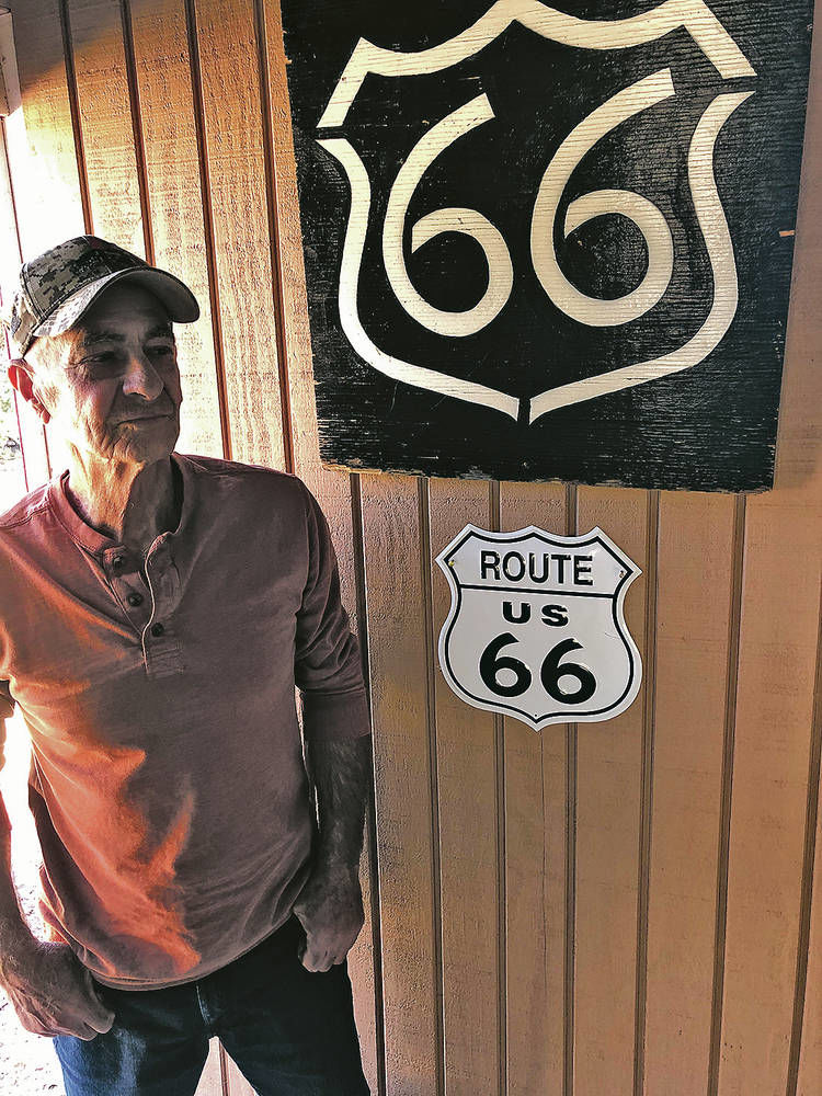 He gets his kicks tracing Route 66