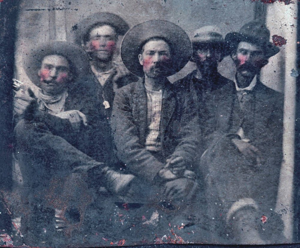 Photo found of Billy the Kid, lawman Garrett who killed him