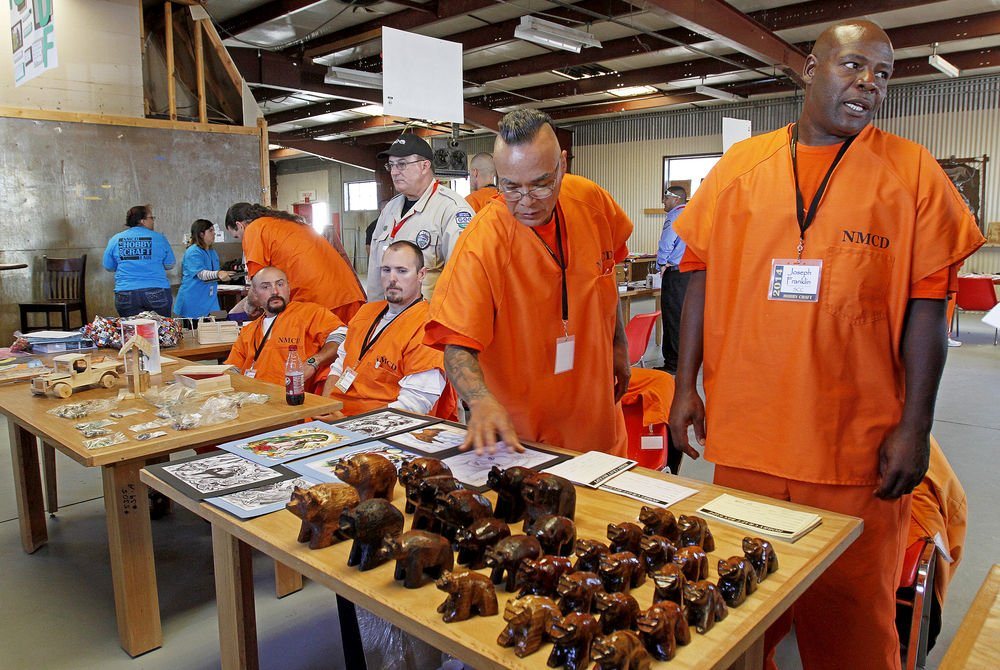 Prison craft fair aims to help inmates prepare for life on the outside