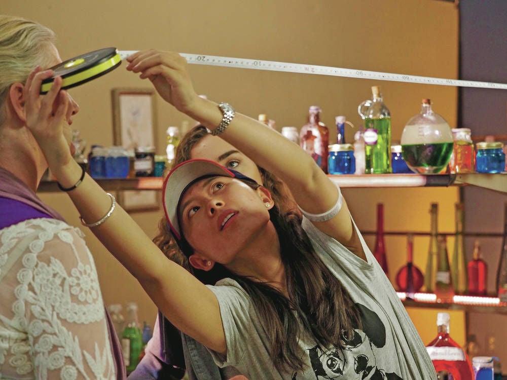 On-set mentorships encourage girls to explore filmmaking