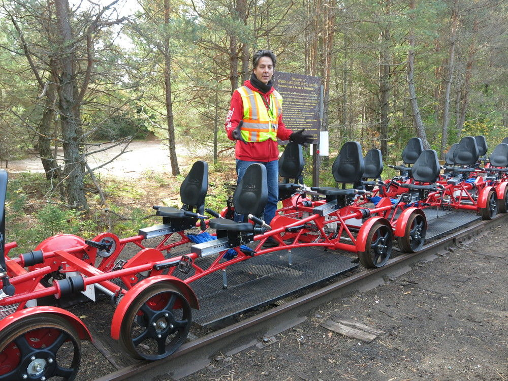 Rail Bike Tours Adirondacks