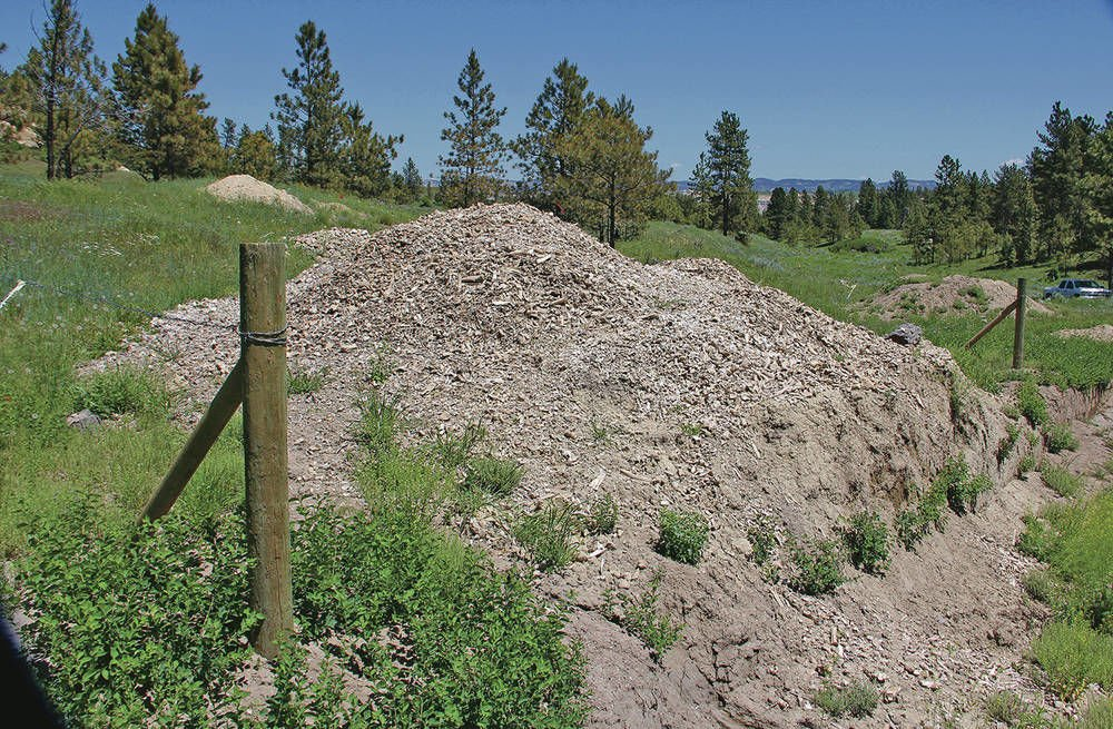 Crow tribe: Noted bison kill site desecrated by coal mine