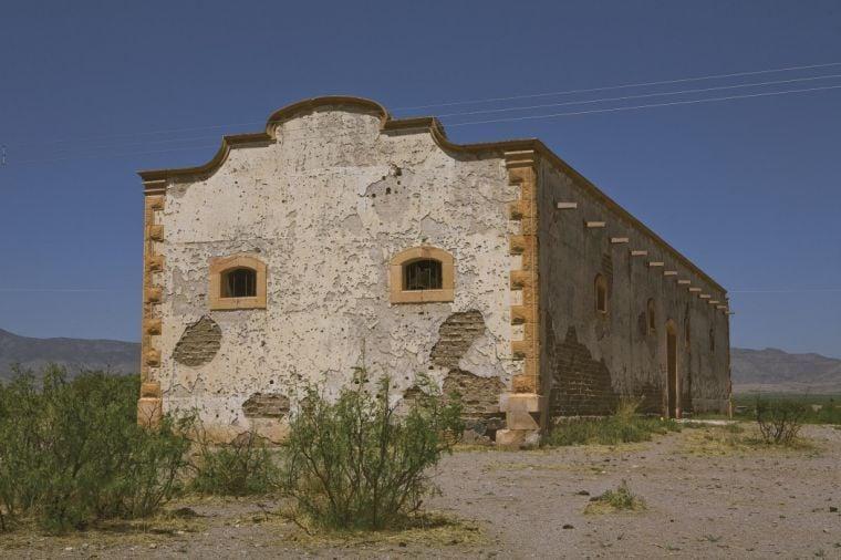 Granary in Hacienda de San Diego, Chihuahua, Mexico