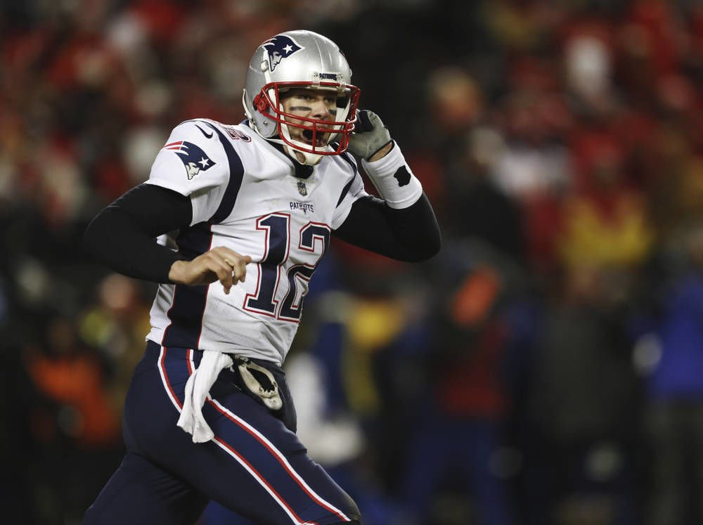 Brady marches Patriots to 3rd straight title game | Sports ...