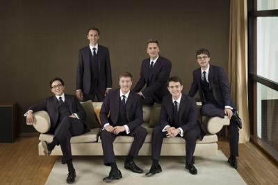 Ardor in the cathedral: The King's Singers