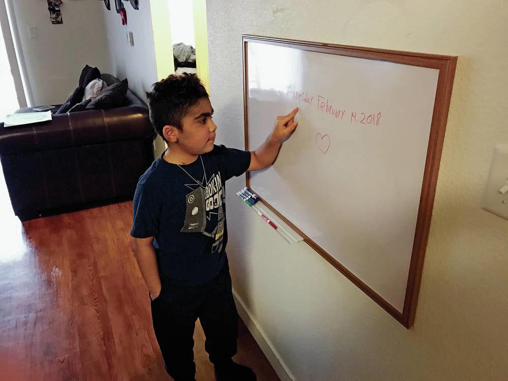 Boy battles rare blood disease