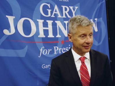 Ex-governor Gary Johnson jostles Senate race