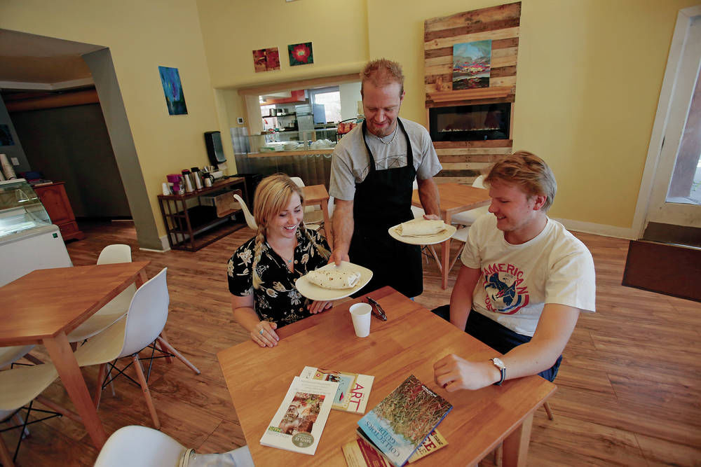 Rock and (cinnamon) rolls: Musician starts fresh with cafe