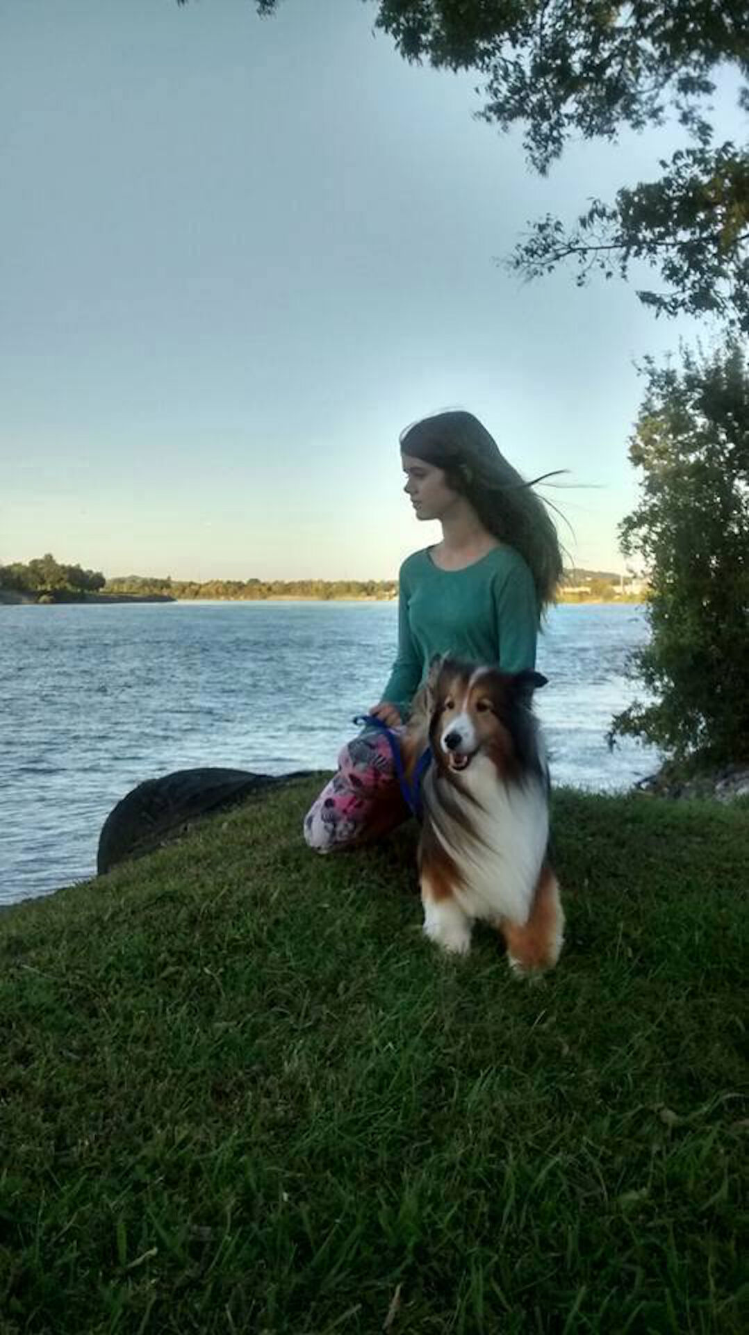 Daphne and her dog.jpg