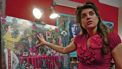 Santa Fe artist's Queen painting will rock you