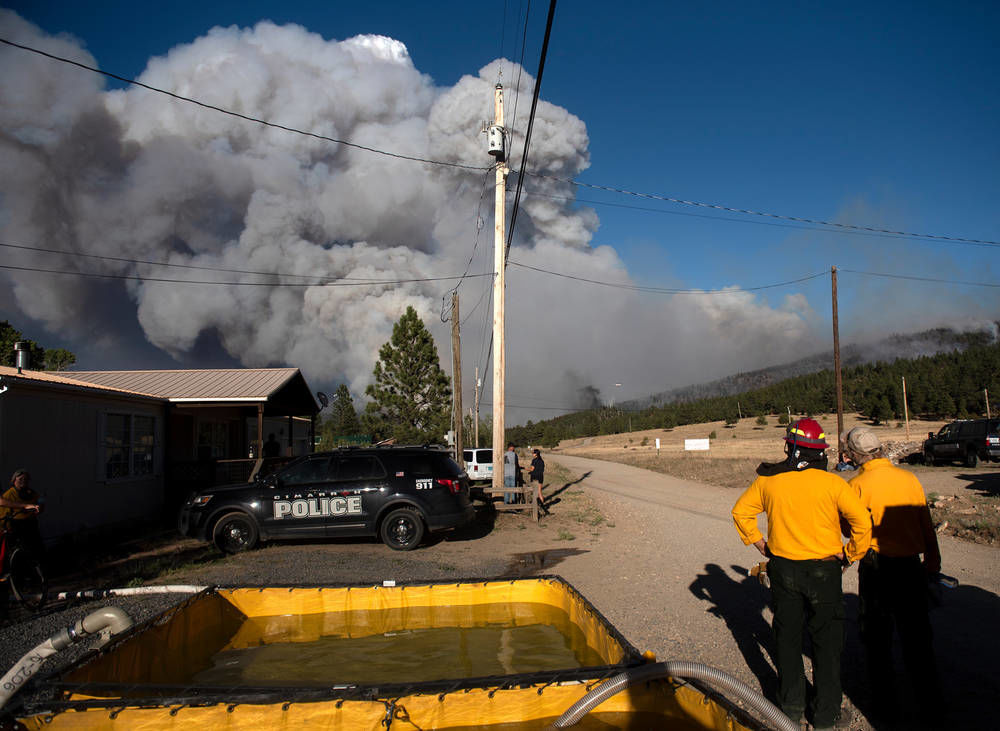 Ute Park Fire grows to over 16,000 acres