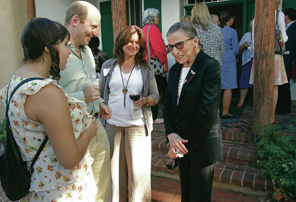 Santa Fe A Favorite Summer Getaway For Justice Ginsburg Local News Santafenewmexican Com