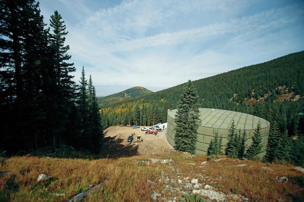 New tank at Ski Santa Fe means more snow on the mountain, longer season