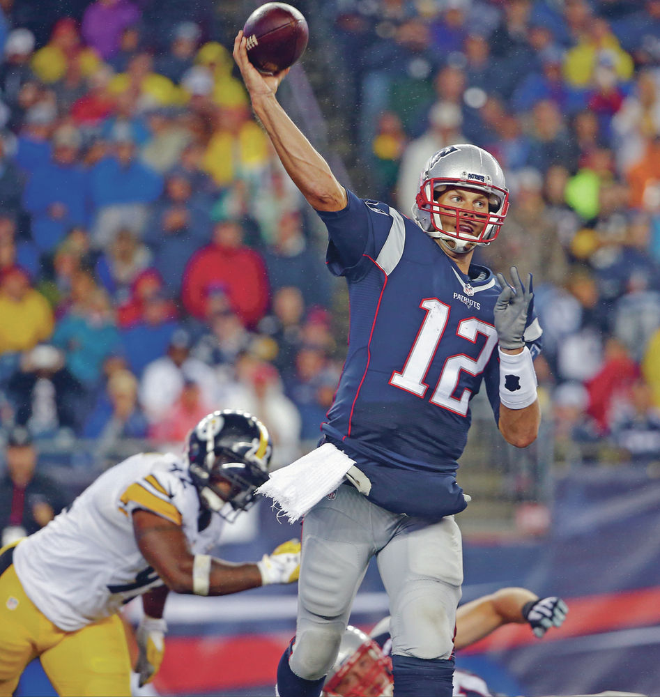 Brady throws 4 TDs as Patriots defeat Steelers in NFL ...