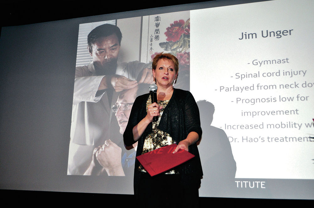 Doctors honored for neuro-acupuncture 'miracles'