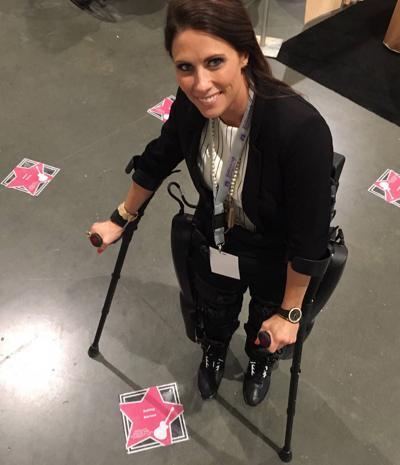 Robotics help paralyzed people walk again