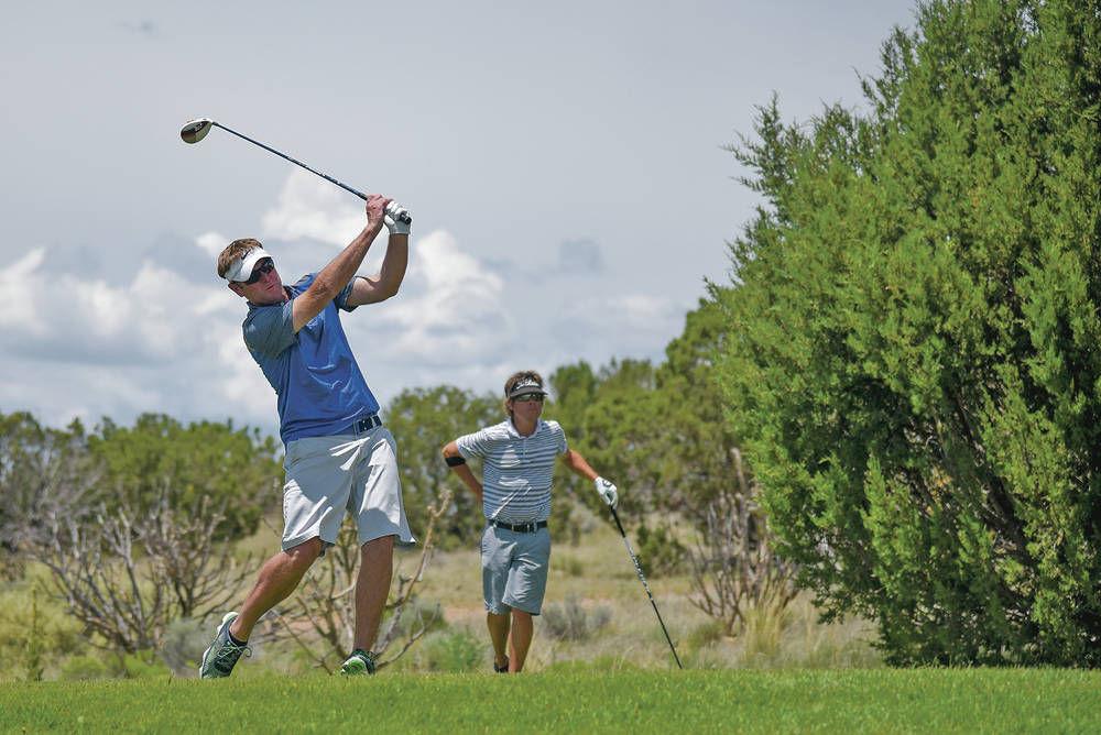 Santa Fe Golf Championship: Bartlett, Fiorina win three-day tournament