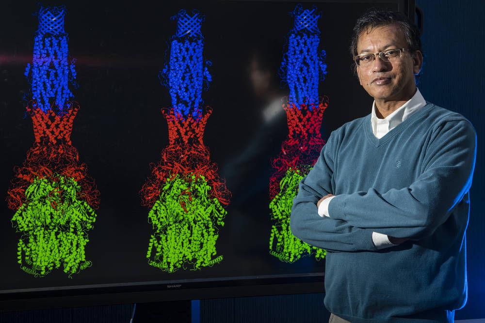 "Sandrasegaram ""Gnana"" Gnanakaran is a theoretical biologist at Los Alamos National Laboratory"