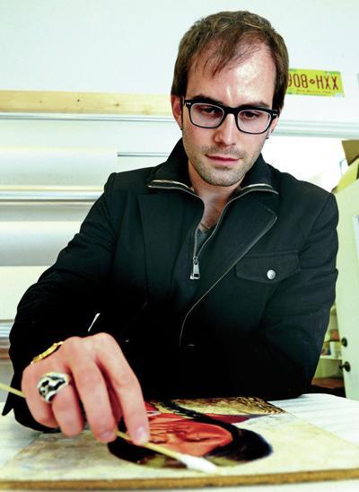 Sunday Spotlight: Art restorer stays true to his favorite icon, Zozobra