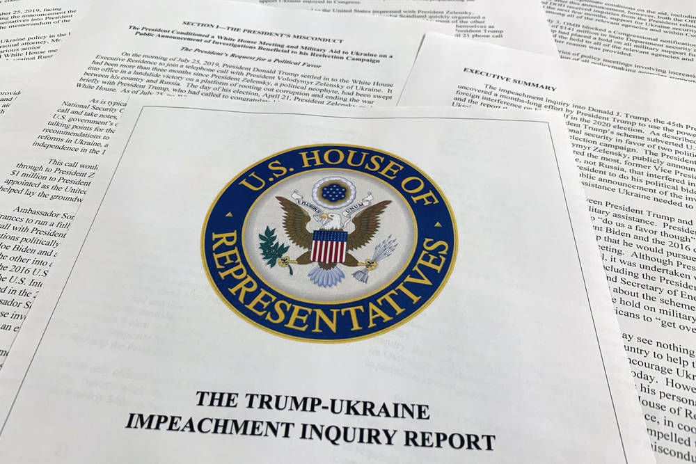 In 300 pages, House lays out evidence for Trump impeachment