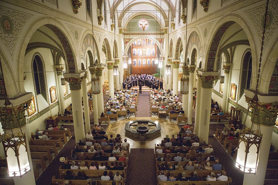 Santa fe Desert Chorale at Cathedral Basilica