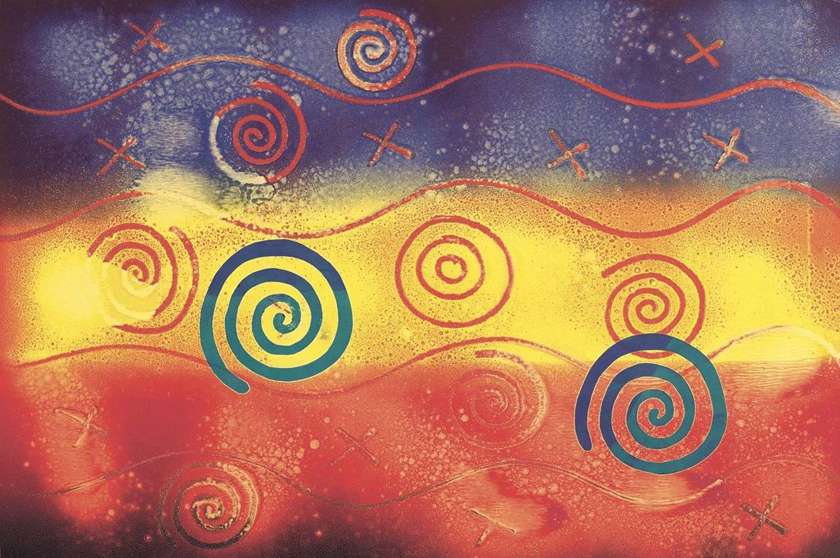 The lay of the land: artist Linda Lomahaftewa