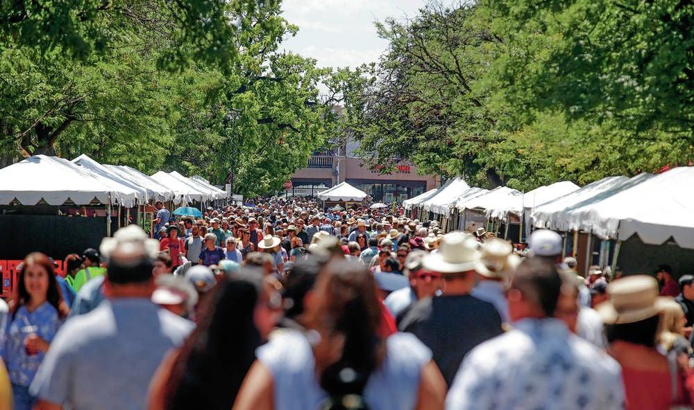 At Santa Fe Indian Market, Native artists 'meeting the world'