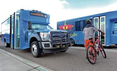 Mountain bus service resumes with new space for bikes