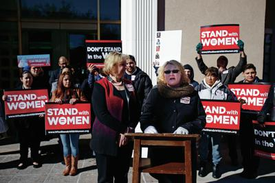 Women's advocates rally for CYFD changes | Legislature | New Mexico