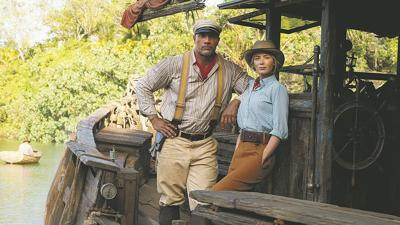 'Jungle Cruise' invites you to turn off your mind, relax, and float downstream