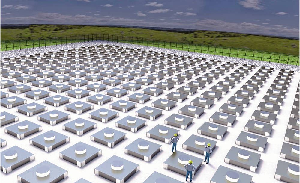 Nuke firm eyes site near WIPP for temporary waste storage
