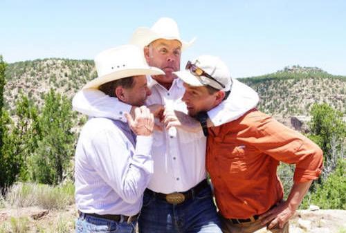 Zinke, N.M. senators 'horsing around' in Sabinoso