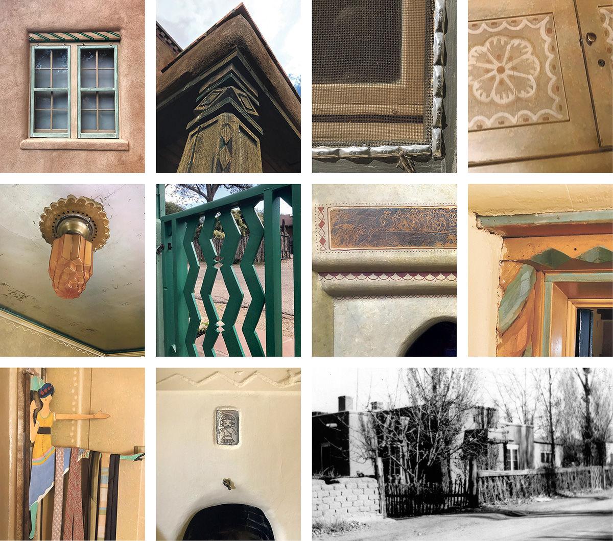 Baumann house detail photos Paul Weideman bottom