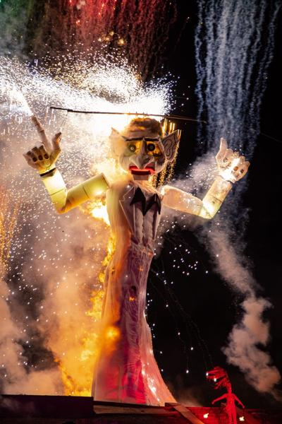 All fired up: the Burning of Zozobra