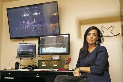 Taking a bow: Filmmaker Alexandria Bombach