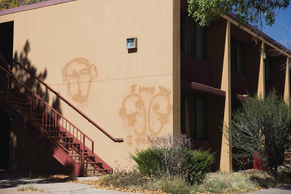 Santa Fe University Of Art And Design Resembling A Ghost Town