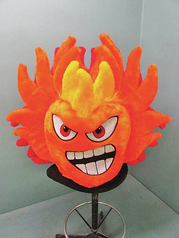 Fuego's snarling new mascot no Pepper