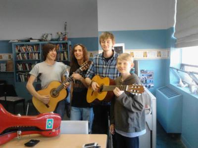 NMSA recital at High Desert Guitars