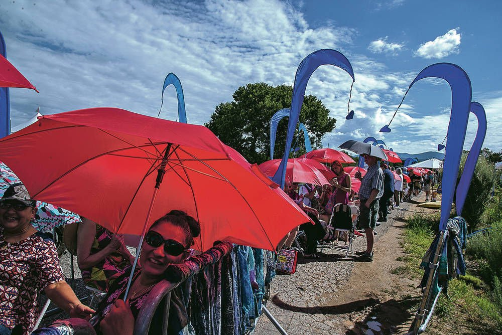 Attendance and sales up at Folk Art Market, with few snags