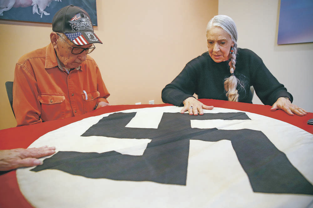 Soldier's family seeks proper home for Nazi flag