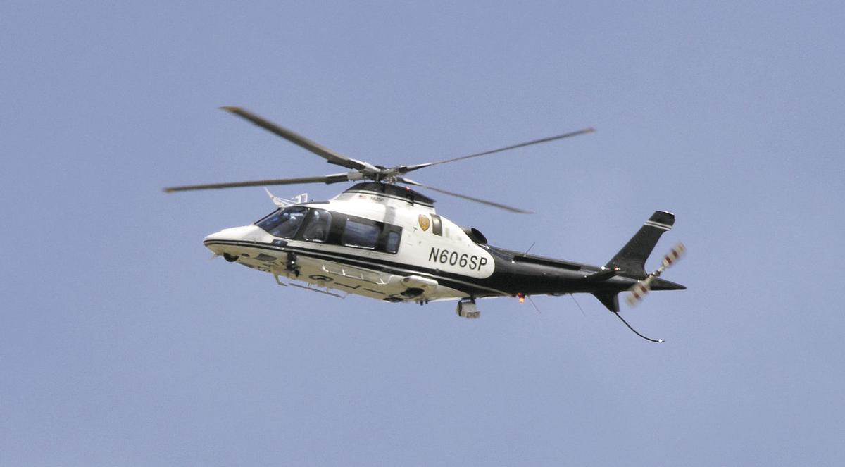 FBI operation brings helicopter