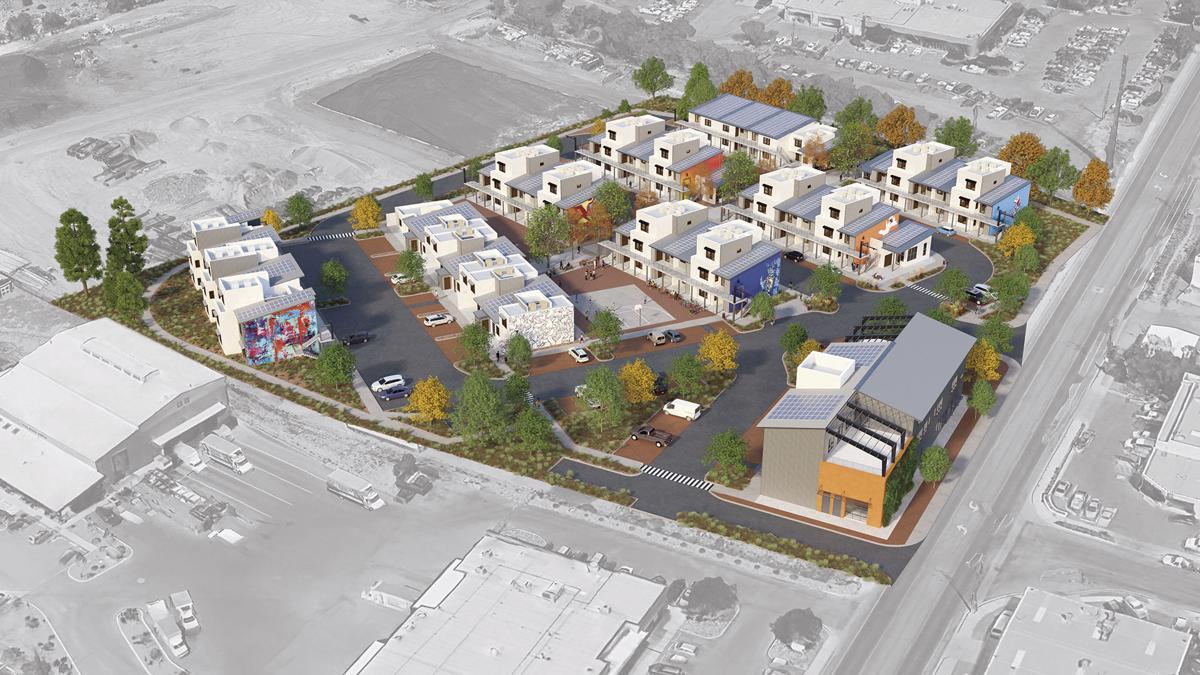 Siler Yard rendering