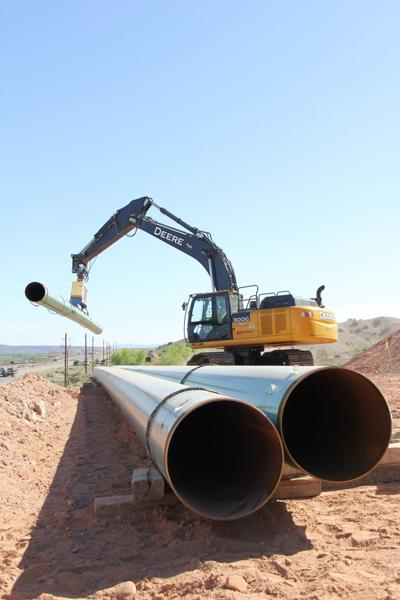 New Mexico Gas pipeline