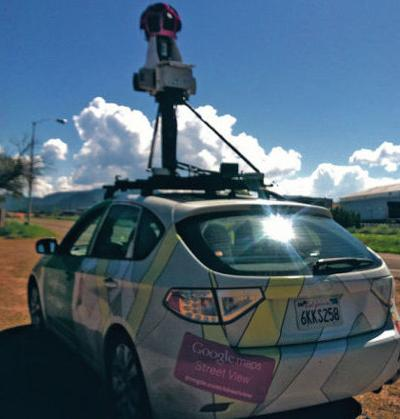 Google Maps camera car spotted on the streets of Santa Fe ... on google maps car, google street view in africa, google earth street view car camera, google street view in oceania, google map vehicle tracking, web mapping, google maps street view vehicle, google street view in europe, google search, google street view privacy concerns, google earth, google street view in asia, aspen movie map, google street view in latin america, google art project, competition of google street view, google street view in the united states,