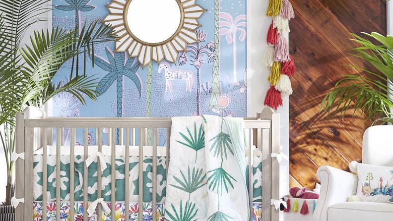 Nurseries worthy of a Bohemian lullaby