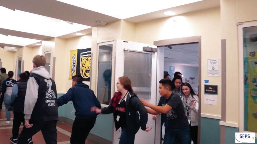 Santa Fe's school shooting training video concerns parents