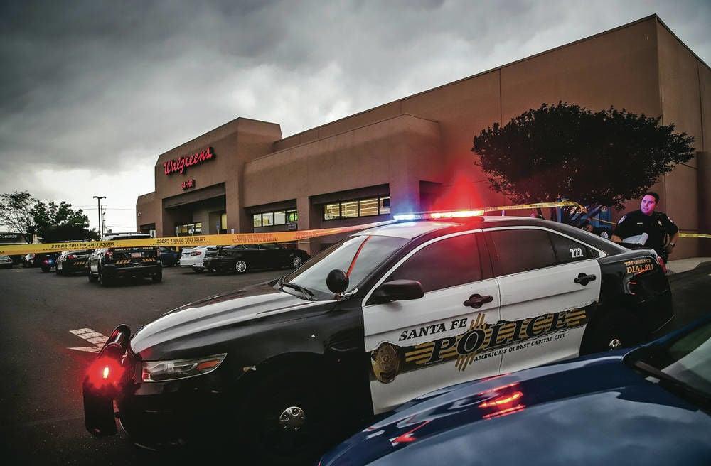 Suspect sought in shooting near Walgreens in Santa Fe