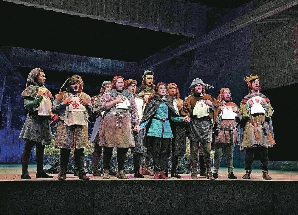 Santa Fe Opera presents world premiere of 'Thirteenth Child'